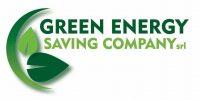 GREEN ENERGY LOGO per contratti vettoriale