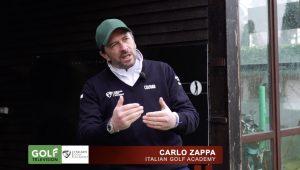Carlo Zappa la routine prima della gara